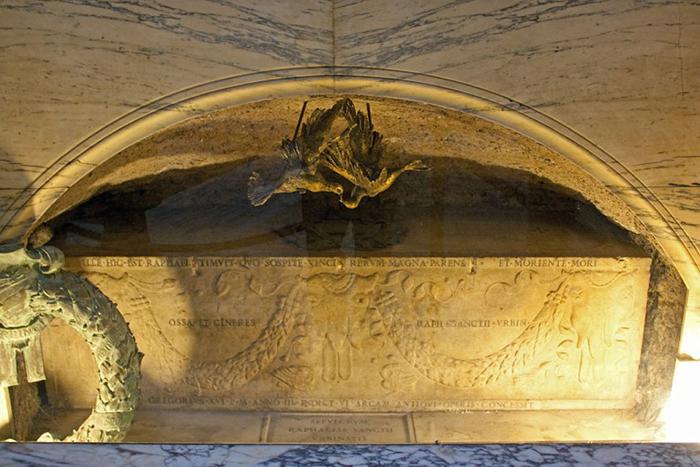 Гробница Рафаэля.