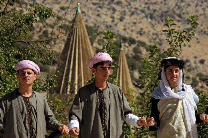 Езидам запрещены браки вне своей касты
